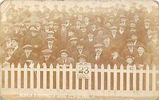 POSTCARD  SPORT   FOOTBALL   BRIGHTON &  HOVE  ALBION  V  PLYMOUTH  1918    RP