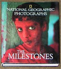 NATIONAL GEOGRAPHIC ~ PHOTOGRAPHS ~ MILESTONES ~ LEATHER ~ PROFISELY ILLUS ~ HC