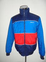 vintage Adidas 80s Nylon Jacke Wendejacke glanz oldschool Jacke 80er Jahre L