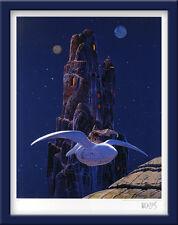 MOEBIUS -GIRAUD STARWATCHER ARZACH LE ROCHER (USA)-GRAND FORMAT 20 ex. n°/signés