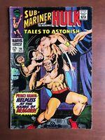 Tales to Astonish #94 (1967) 6.0 FN Marvel Key Issue Silver Age Sub-Mariner Hulk