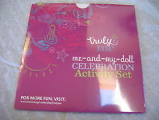 "18"" American Girl Doll ME & MY DOLL CELEBRATION ACTIVITY SET Truly Me  New"