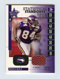 Randy Moss 2001 Leaf Rookies & Stars Statistical Standouts GU Football R&S 1:96