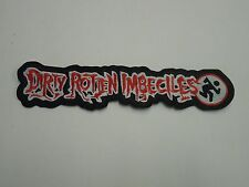 DIRTY ROTTEN IMBECILES D.R.I. EMBROIDERED BACK PATCH