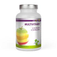 Vita2You Multivitamin 240 Kapseln - 28 Vitamine & Mineralien - Premium Qualität