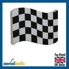 REDUCED...Grand Prix Chequered Flag Car Aerial Ball Topper