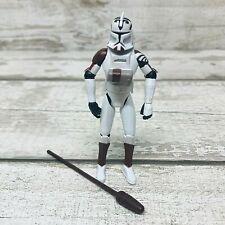 "Hasbro LFL Star Wars Clone Wars Trooper with Space Gear 3.75"" Action Figure"