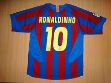 sale BARCELONA RONALDINHO shirt M MEDIUM jersey camiseta 2005 05 soccer football
