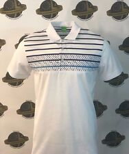 Hugo Boss Green Label Paule 5 Slim Fit Polo Camisa Blanco Talla XL