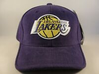 Los Angeles Lakers NBA Vintage Adjustable Strap Hat Cap American Needle Purple
