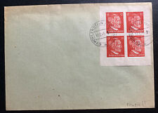1945 Hohllenstein Germany OSS Forgery Cover Stamp Block B