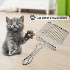 Metal Cat Litter Scoop Hollow Pet Toilet Scooper with Long Handle Pet Supplies.
