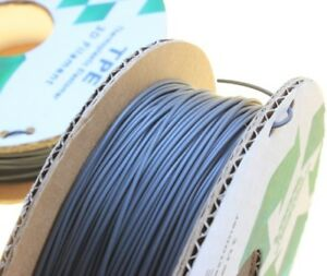 TPE Flexible 3D Printing Filament 1.75mm Rubber Thermoplastic Flex