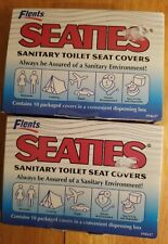 Flents Seaties Sanitary Toilet Seat Covers, 10 Ea., 2 boxes