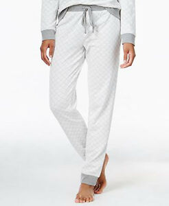 Alfani Women's Gray Quilted Style Jogger Pajama Pants Size 3XL