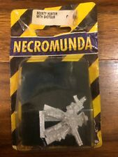 Necromunda Bounty Hunter With Shotgun New Blister Metal Warhammer 40k OOP
