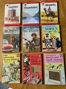 vintage ladybird books job lot 1970s 1960s People at Work religious africa