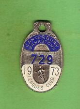 1973  CANTERBURY  BULLDOGS   RUGBY  LEAGUE  CLUB  MEMBER  BADGE #729