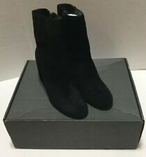 NEW Thursday Boots Company Black Sued Highline Boots Size 9