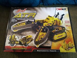 Robot Kit OWIKIT ATR OWI-536 All Terrain 3-in-1 RC robot New