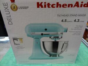 NEW KitchenAid Deluxe 4.5 Quarts Tilt-Head Stand Mixer KSM97MI  - Mineral Water