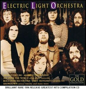 ELO - A Very Best Greatest Hits Compilation RARE CD 70's Pop Jeff Lynne Roy Wood