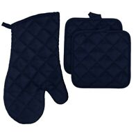 Navy Blue - Oven Mitt - Pot Holders - Home Collections - Kitchen Linens