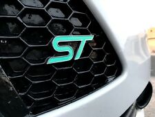 Ford Focus ST inlay overlay decal for emblems Front and Back Stickers 0006