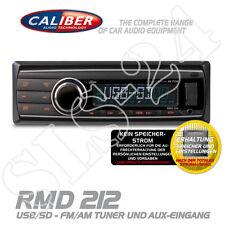 CALIBER rmd212 autoradio DIN Radio USB SD AUX-in AM/FM Sintonizzatore mp3 senza lettore CD