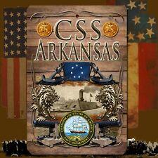CSS Arkansas 8 X 12 Aluminum Sign with top & bottom mounting holes