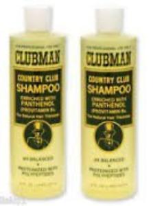 Clubman Country Club Shampoo 16oz pack of 2