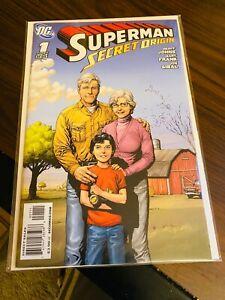 Superman Secret Origins #1 Geoff Johns & Gray Frank VF/NM Comic Book DC