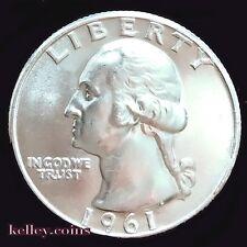 1961-D Washington Silver Quarter BU