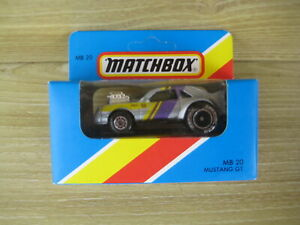 MATCHBOX SUPERFAST  MB20   MUSTANG GT       ABSOLUTELY MINT