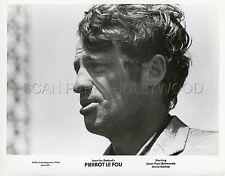 JEAN-PAUL BELMONDO JEAN-LUC GODARD  PIERROT LE FOU 1965 VINTAGE PHOTO ORIGINAL