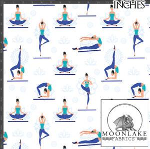 Yoga Wellness Fabric 100% Quality Cotton Poplin Fabric *Exclusive*