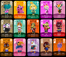 Custom Animal Crossing Amiibo Card Coins [All £1.99 / €2.20]