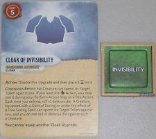 CLOAK OF INVISIBILITY + TOKEN Dungeons and Dragons D&D ATTACK WING