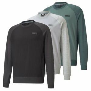 NEW Puma EGW CLOUDSPUN PM Golf Crewneck - UPF40 - Choose Color and Size