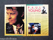 BC19 - Clipping-Ritaglio -1989- PAUL YOUNG , UN PO' DI STORY...