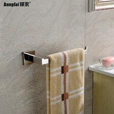 10 inch Bathroom Stainless Steel Square Single Towel Rail Bar Bath Holder Rack