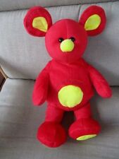 "Sugar Loaf  Bright Red/Yellow MOUSE 14"" Tall Stuffed Plush 2008"