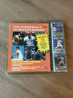 1989-1990 Baseballs 100 Hottest Rookies Cards by Score - Sealed Pack