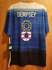 Nike Usa Us Soccer Usmnt 2015 Away Jersey Le Clint Dempsey #8 Size Xl