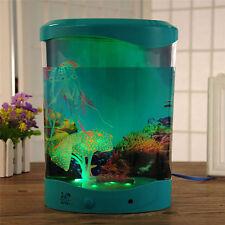 4L LED Light Jellyfish Aquarium Coral Glowing Fish Tank Household Home Decor