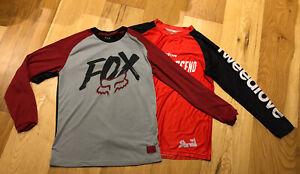 2 Youth Long Sleeve MTB Jerseys Inc Fox Youth Ranger Dri-Release Jersey Youth XL