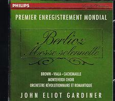 CD album: Berlioz: Messe Solennelle. John Eliot Gardiner. philips. G