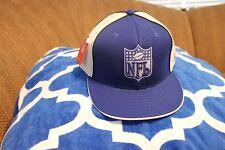 Indianapolis Colts NFL Shield Logo Reebok Flat Bill Hat/Cap Size 7 7/8 NWT