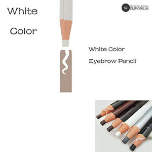 White Eyebrow Peel-Off Pencil Soft-Water-Proof Pencil
