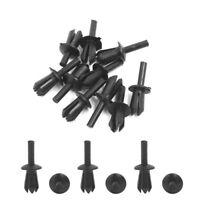 5mm Car Body Plastic Push Pin Clips/Rivets/Fastener Trim Moulding Clip Set